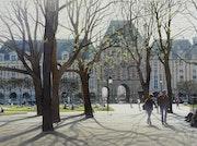 La Place des Vosges.