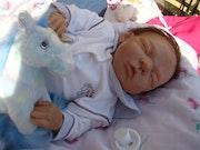Bébé Reborn Elouane - Fête des Mères. La Nurserie De Perlou