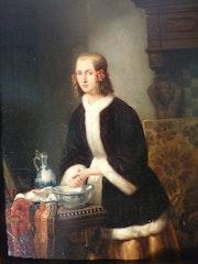 Victor Kuhnen - Bildnis einer jungen Dame. Vera Birgel