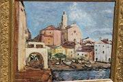 Charles camoin «Port de Cadaqués» 1932. La Galerie d'Alexandre