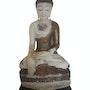 Alabaster Myanmar Burma Shan Buddha 18th century. Elcoco