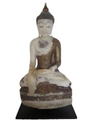 Alabaster Myanmar Burma Shan Buddha 18. Jahrhundert.