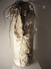 Vase «En habit de lumière», blanc.