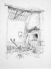 La grange à Langouet, Bretagne. Rémy Nicolas