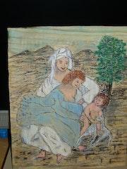 La Vierge et Ste Anne de Léonard de Vinci.