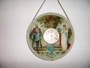 Horloge murale 18ème. Za3Ter