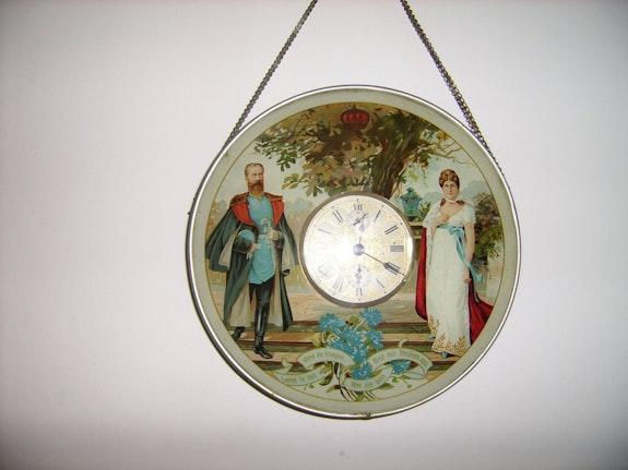 Horloge murale 18ème. G. Gebr Za3Ter