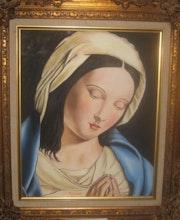 Virgen. Antonio Guedes Artiles