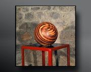 Sculpture sphère.