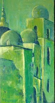 Zarzis et son architecture verte (Tunisie)-Maï Laffargue. Maï Laffargue