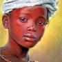 Jeune fille au collier. Michèle Duretête-Brodel