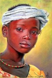 Jeune fille au collier.