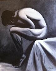 Desnudo masculino. Maria Fernandez