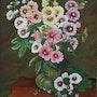 Les roses trémières. Marie Colin