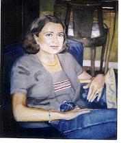 Aline, portrait sur commande.