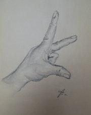 «Trois doigts».