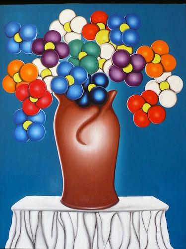 Bouquet cosmique. Dominique Dingli