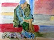Le pécheur d'Essaouira. Yokozaza