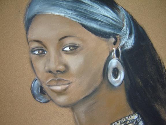 Africaine.  Joelle Bouriel