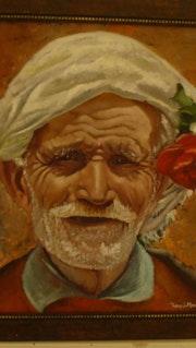 Visage arabe. Samos Blondina