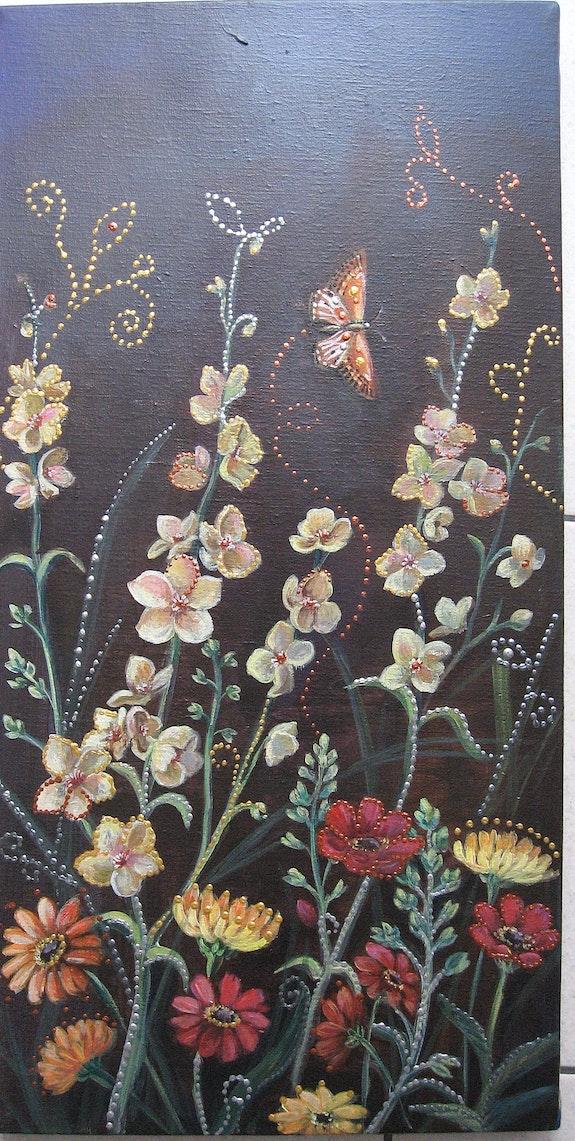 Fleurs.  Elisabeth Le Nouaille