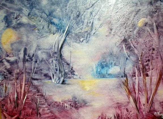 Soir d'hiver. Christiane Fages Christiane Fages - Gramont