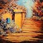 La boîte aux lettres bleu. Gérard Crouzet