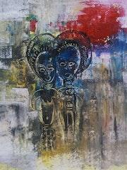 Le couple africain. Kwami Da Costa