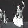 Flamenco - Peinture Noir & Blanc avec une pointe de couleur. Jo-Elle