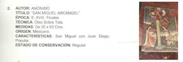San Miguel Arcangel. Maria Del Carmen Montes De Oca