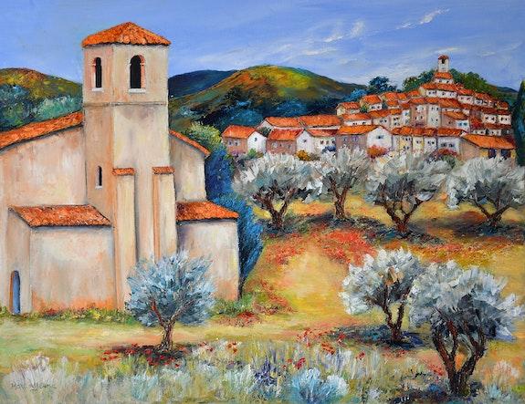 Village de provence ref 1383. Marc Lejeune Marc Lejeune