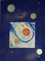 Reflexion cosmique n°3. Elfi