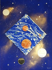 Reflexion cosmique n°4.