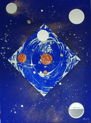 Reflexion cosmique n° 5. Elfi