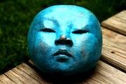 Galet Zen en Bronze.