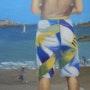 L'ado à la plage. Mag