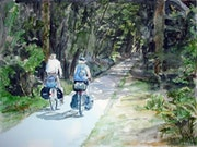 Vacances à bicyclette.