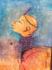 Orisha dieu du feu du penthéon Vodoun de l'Afrique de l'Ouest. Sègbolissa