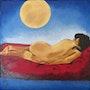 Clair de lune en juin. Jean Claude Ciutad-Savary. Artiste Peintre