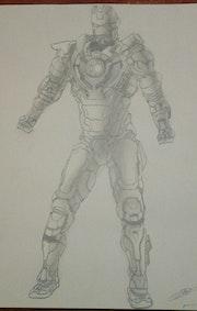 Iron man draw. Yannis59