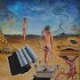 La aparición de mi musa (o «La musa de los 46 cielos»); L'apparition de ma muse. Gerardo L. Marcorighi