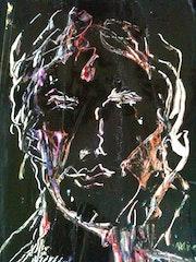 Portrait renaissance noir.