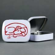 Tin Box - Dog Red - Art Multiple Jacqueline_Ditt limited Editon.