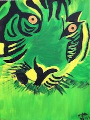 Green tiger. Neha Shah