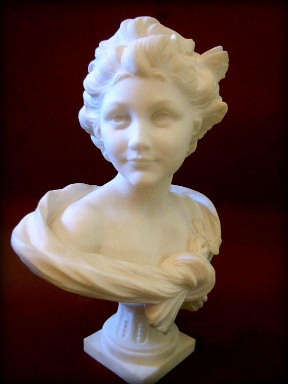 Statue signée A. Leonard. Léonard Van Weydeveld Dit Agathon Marc Menzoyan Antiquités