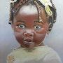 Abebi, poupette africaine. Catherine Wernette