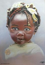Abebi, poupette africaine.