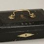 Original Geschenkkassette König Edward VII. Von England an Lillie Langtry.. Thomas Kern