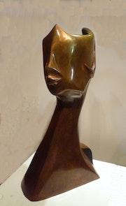 Incognito Bronze 1/8 «ni vue ni assez reconnue».