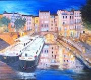 Narbonne - Le canal de l Robine.